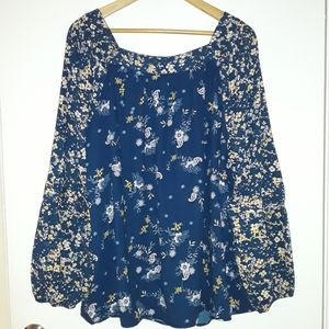 Lauren Conrad BOHO Style Blouse